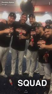 celebrate along with the astros following their al west