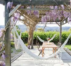 backyard hammock patio farmhouse with backyard cafe chairs