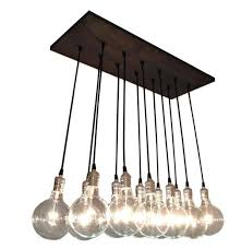 Home Design Lighting Suriname by Urban Chic Chandelier With Exposed Bulbs Kitchen Lighting
