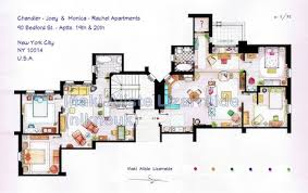 dexter friends and other tv show apartments inspire cool floor