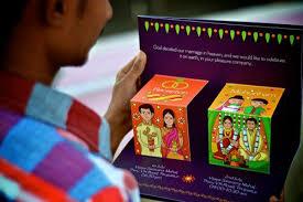 creative indian wedding invitations creative and unique indian wedding invitation card ideas