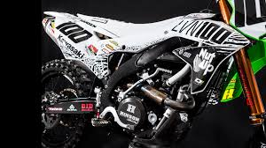 motocross race bikes for sale inside josh hansen u0027s kawasaki kx450f dirt bike inside josh