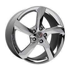 2014 corvette stingray wheels c7 corvette stingray 2014 gm 5 spoke chrome wheels 19in front