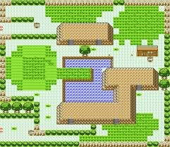 safari zone map safari zone area 1 in yellow for gbc by ck47 on deviantart