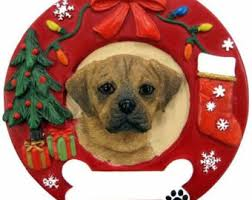 puggle ornament etsy