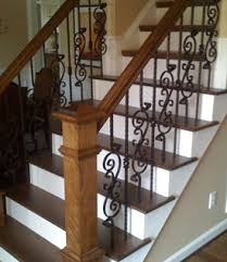 Refinish Banister Railing Complete Staircase Installations In Raleigh Cary Apex Durham