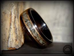 jewelry wooden rings images Bentwood ring macassar ebony bentwood wood ring braided gold JPG