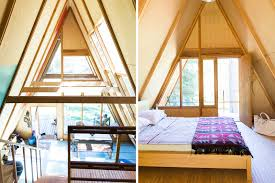 a frame homes cabin rentals a door to the wild a frame cabin