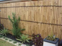 a rustic bamboo fence panels home interiors diy plans back designs