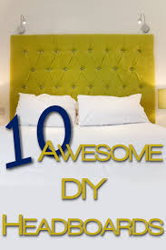 furniture divine design ideas of cool headboard with yellow color
