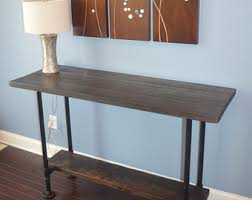 Wooden Buffet Table by Rustic Buffet Etsy