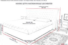 misura standard materasso awesome materasso matrimoniale misure gallery idee arredamento