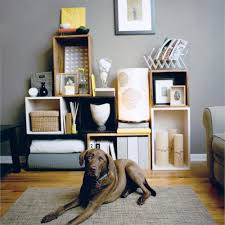 Livingroom Storage by Creative Small Space Storage Solutions Sunset