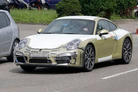 generation porsche 911 spyshots generation porsche 911 dress rehearsal autoevolution