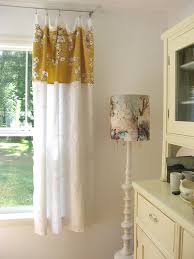 Short Curtains For Living Room by From Dotty Angel For Too Short Curtains Lampshade Makeover For