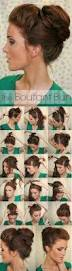 Easy Updo Hairstyles Step By Step by Best 20 Easy Updo Hairstyles Ideas On Pinterest Easy Updo Low