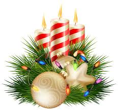 christmas candle decorative png clipart image gallery