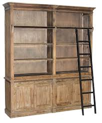 Industrial Bookcase With Ladder by Welcome To Harris Wholesale Furniture