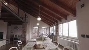 industrial style house modern industrial style house with vintage bike stock video info
