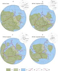 World Plate Boundaries Map by Plate Tectonics Reconstructions For The Position Of Continents