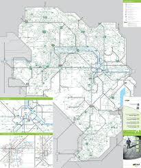 Transport Map Map Of Vienna Bus Wienier Linien Network Http Viennamap360 Com