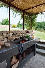 outside kitchens ideas 01 outdoor kitchen ideas homebnc designs 17 functional and