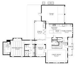 new southern home plan floor plans blueprints architectural