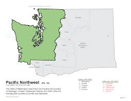 Map Of Washington State Counties by U S Masters Swimming Pacific Northwest Lmsc