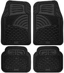 floor mats car floor mats for all weather rubber 4pc set tactical fit heavy