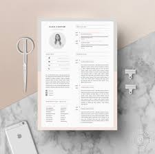 resume templates and cover letters modern resume template cover letter icon set for microsoft zoom