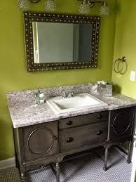 Repurposed Furniture For Bathroom Vanity Simple Redesign Custom Furniture Painting Grand Rapids Mi