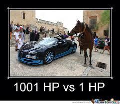 Bugatti Meme - bugatti veyron vs horse by ben meme center