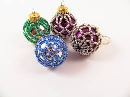 beaded ornament pattern 3 net beading tutorial in pdf
