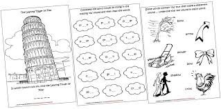 diphthongs lapbook and worksheets ow iman u0027s home