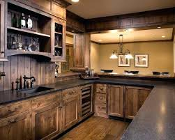 Wood Kitchen Cabinets For Sale Rustic Wood Cabinet Doors Knotty Alder Wood Kitchen Cabinets