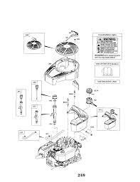 briggs u0026 stratton engine parts model 12s9050732b1 sears