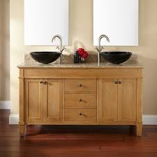 Marilla Double Vessel Sink Vanity Bathroom - Bathroom vanities double vessel sink