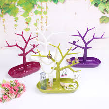 shop 1pc new tray display stand for jewelery earring