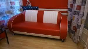 canape retro canapé et fauteuil américains vintage décoration us 50 s et 60 s