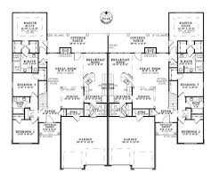 Blueprints For 4 Bedroom Homes by Best 25 Duplex House Plans Ideas On Pinterest Duplex House
