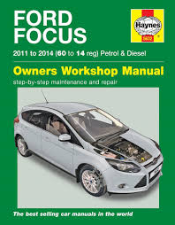 ford focus haynes manual repair manual workshop manual service