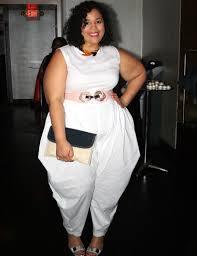 white jumpsuits plus size plus size runway garnerstyle
