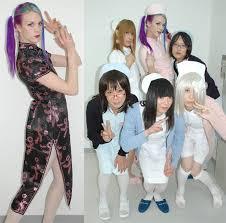 josou japanese drag groups for men dressing as cute girls 女装