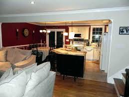 open kitchen and living room floor plans kitchen dining room decobizzcom iowa