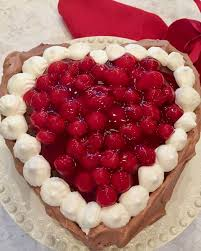 valentines chocolate chocolate cherry valentines day torte grits and pinecones