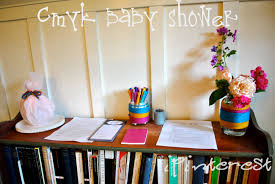 cmyk inspired baby shower part 5 final edition have fun with it