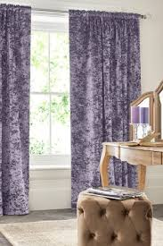 Mauve Curtains Next Buy Crushed Velvet Multi Header Lined Curtains From Next Usa