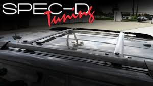 roof rack for toyota sequoia specdtuning installation 2008 2013 toyota highlander roof
