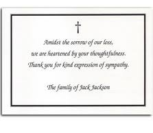 funeral thank you cards bereavement thank you cards custom thank you cards personalised