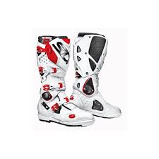 white motorbike boots sidi motorcycle boots sidi crossfire 2 srs white red motorcycle